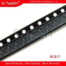 100pcs BC817-40 SOT23 BC817 6C SOT transistor da finalidade geral NPN transistor novo e original