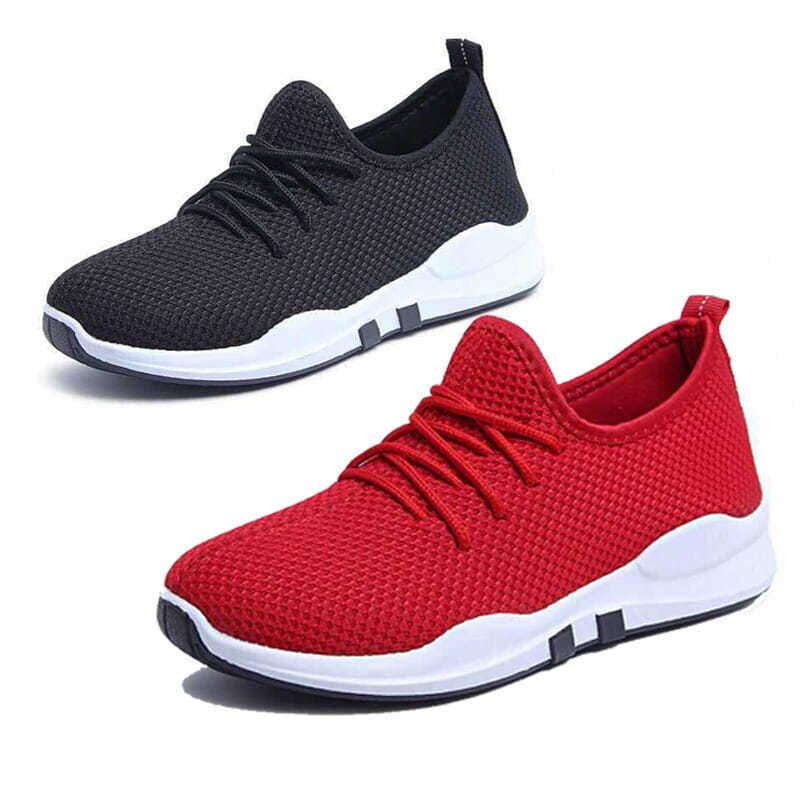 Fashionable outdoor women's white sports shoes high quality brand casual breathable shoes mesh soft jogging tennis shoes summer