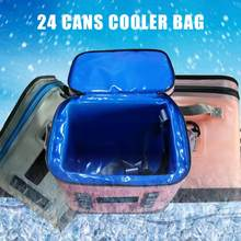 Portable Cooler Insulation Therma Refrigerator Bag Fresh Keep for Taking Lunch Camping Picnic Sea Fishing Trip Beach Weekender(China)