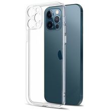 Camera Lens Protection Clear Phone Case For iPhone 12 Pro Max Silicone Soft Cover For iPhone 12 Mini Shockproof Back Cover Gift cheap DAGNAK CN(Origin) Fitted Case Camera Lens Protection Phone Case Apple iPhones iPhone12 iPhone12 Pro iPhone12 mini iPhone12 Pro Max
