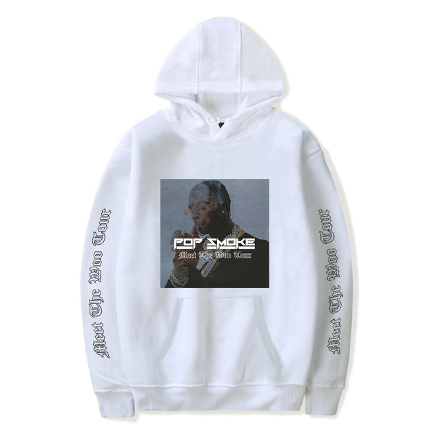 POP SMOKE THEMED HOODIE (25 VARIAN)