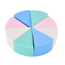 Makeup Sponge Puff-Cleansing Cosmetic Triangle-Shaped Magic Soft 8pcs Wash-Face Candy-Color