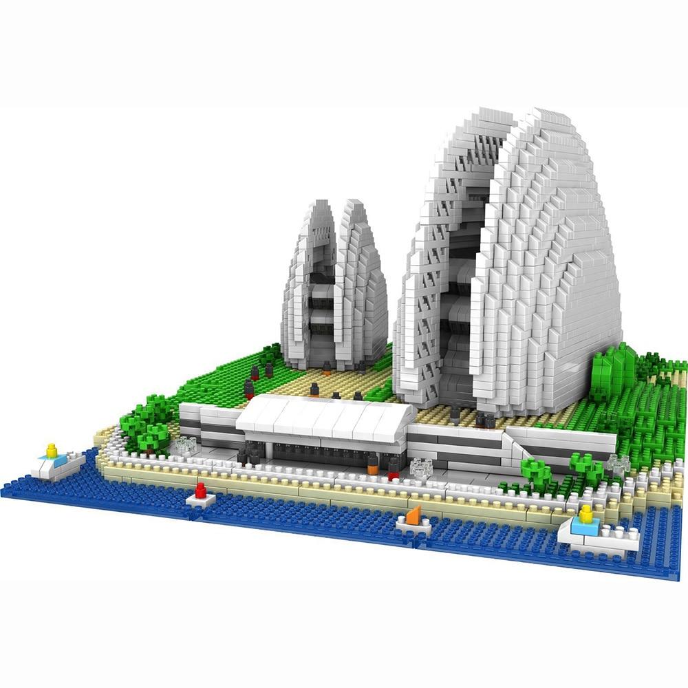 Купить конструктор «сделай сам» архитектурные блоки модель сиднейской