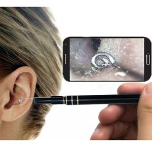 2 in 1 USB Ear Cleaning HD 5.5mm Endoscope 6 LED Lights 0.3MP Visual Earpick With Mini Camera IP67 Waterproof Ear Cleaning Tool
