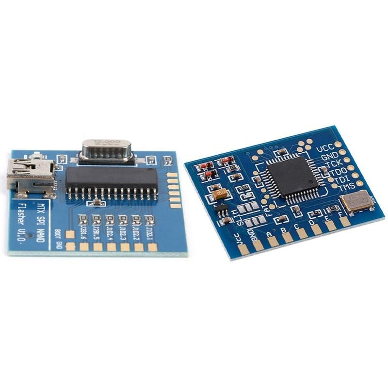 MTX USB SPI NAND Flasher NAND Programmer Reader Board with Matrix Glitcher V3 48MHZ Crystals IC Chip,for  360