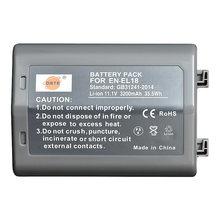 Сменный аккумулятор DTE для камеры Nikon D4, D4S, D5, D500, D800, D800E, D810, D850