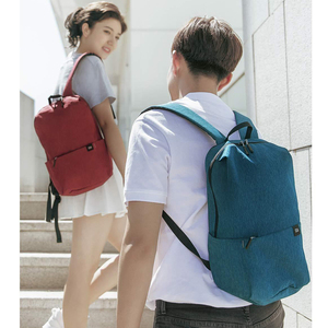 Image 4 - 2020 New Xiaomi Colorful Mini Backpack Bag 8 Colors Level 4 Water Repellent 10L Capacity 165g Weight YKK Zip Outdoor Smart Life