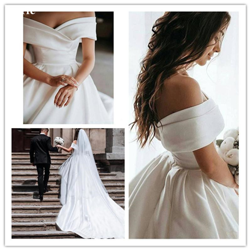off-the-shoulder-princess-ball-gown-wedding-dresses-pleats-satin-vintage-wedding-gowns-elegant-cheap-royal-wedding-gown (2)