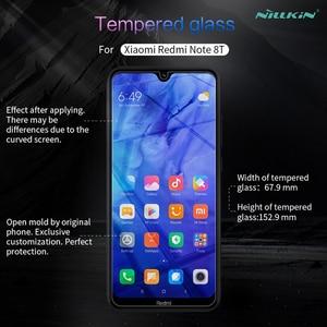 Image 2 - Dla Xiaomi Redmi Note 8T szkło hartowane Nillkin niesamowite H/H + Pro przeciwwybuchowe ochraniacz ekranu dla Xiaomi Redmi Note 8T