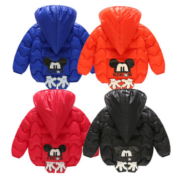 цена на 2020 Winter Warm Baby girl clothes Hooded coat Children Down Jackets For Girls Warm Kids Down Coats For Boys Outerwear Clothes