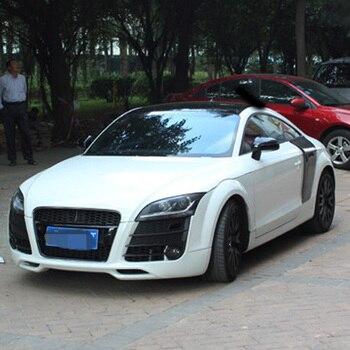 Zwart Front Bumper Grill Grille Voor Audi Tt Ttrs Stijl Zwart Frame 2008 ~ 2014