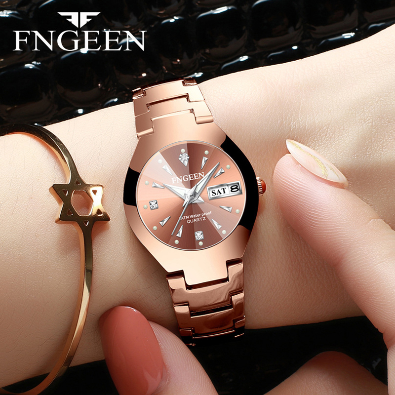 Kingnuos Watch Women Clock 2019 Fashion Business Quartz Wristwatch Casual Bracelet For Watches Female Watch Relogio Feminino