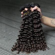 Kinky Curly Bundles Deals 1 3 4 Bundles 100% Human Hair Exte