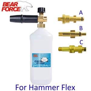 Bottle-Sprayer Hammer Foam-Generator Snow-Foam-Lance Car-Foam Flex High-Pressure-Washer