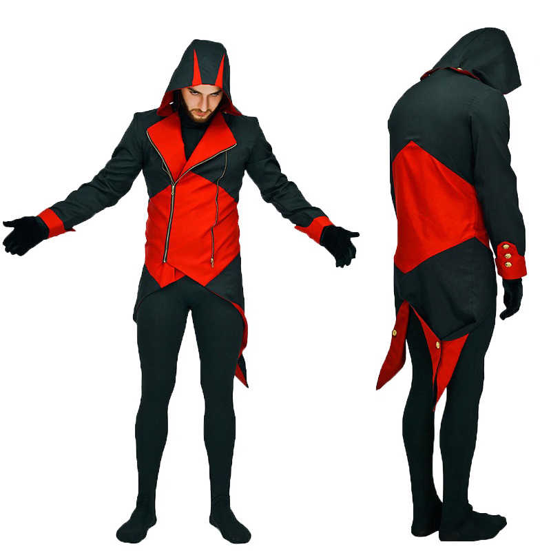 2020 New Assassin S Creed Cosplay Adult Men Streetwear Hooded
