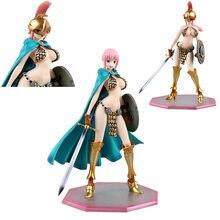 Figura de acción de One Piece de PVC de 24CM, figura de espada que cambia de cara de Rebecca, sombrero de paja, batalla clásica, muñecas coleccionables, regalos de juguete