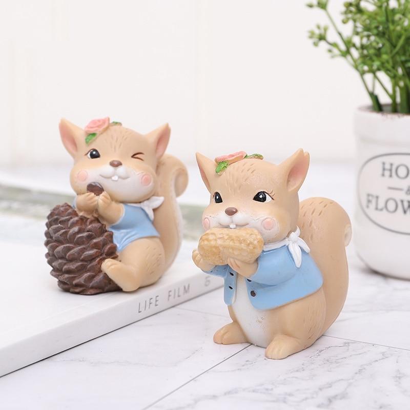 Animal Miniature Figurines Lifelike Crafts Diy Garden Dollhouse Desk Decorations Home Decor Decoracion Hogar Y