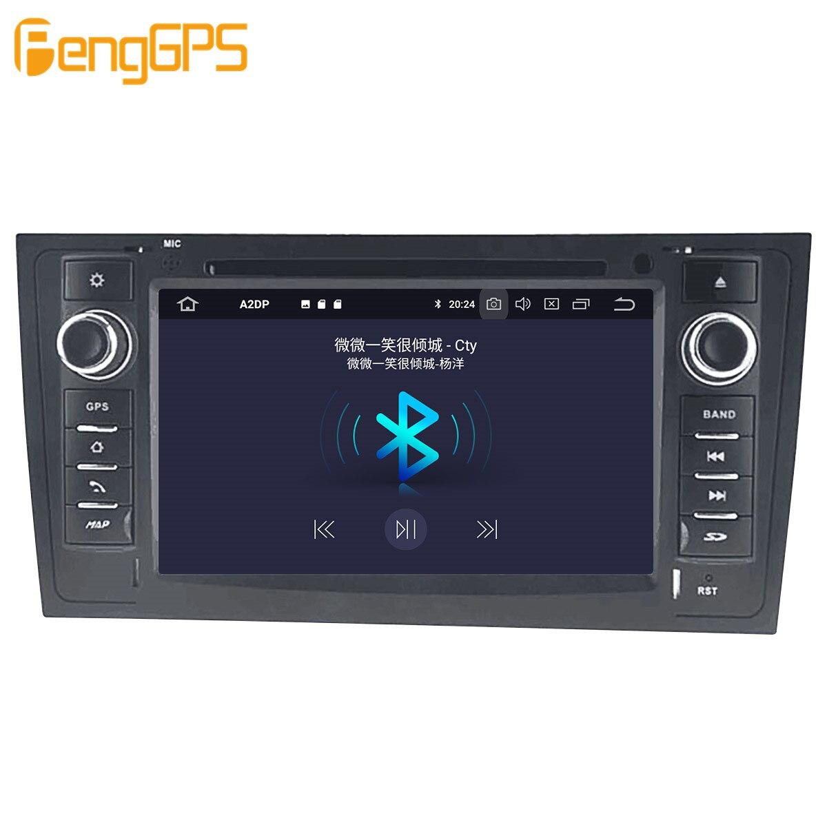 Автомобильный мультимедийный DVD-плеер на Android, GPS-радио для AUDI A6 4B C5 1997- 2004 2005, GPS-навигация, стерео видео головное устройство DSP, стерео-4