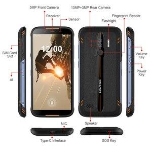 Image 4 - HOMTOM HT80 IP68 Waterproof Smartphone 4G LTE אנדרואיד 10 5.5 אינץ 18:9 HD + MT6737 Quad Core NFC אלחוטי תשלום SOS טלפון נייד