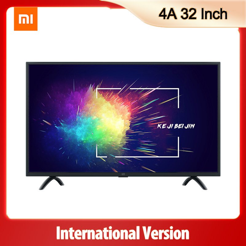 <font><b>tv</b></font> Xiaomi Mi <font><b>TV</b></font> 4A 32inch Television Voice Control DVB-T2/C 1GB RAM 8GB ROM 5G WIFI bluetooth 4.2 Android 9.0 HD <font><b>Smart</b></font> <font><b>TV</b></font> image