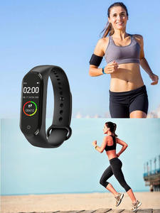 Watch Activity-Tracker Health-Bracelet Heart-Rate-Monitor Color-Screen Portable Smart