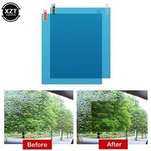 2pcs/set Car Window Anti Water Mist Anti Fog Rainproof Window Protective Film Universal Waterproof Car Sticker Film