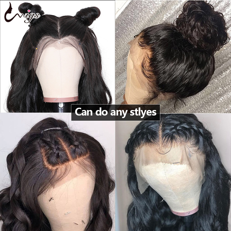 Best Discount 0941f 13x6 Lace Front Wig Body Wave Human