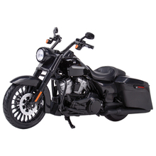 Maisto 1:12 2017 Road King Speclal Die Cast Vehicles Collectible Hobbies Motorcycle Model Toys
