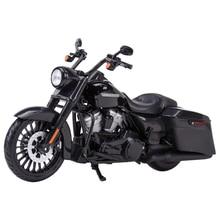 Maisto 1:12 2017 Road King специализированные литые автомобили, коллекционные хобби модель мотоцикла, игрушки