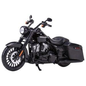 Image 1 - Maisto 1:12 2017 Road King Speclal Druckguss Fahrzeuge Sammeln Hobbies Motorrad Modell Spielzeug