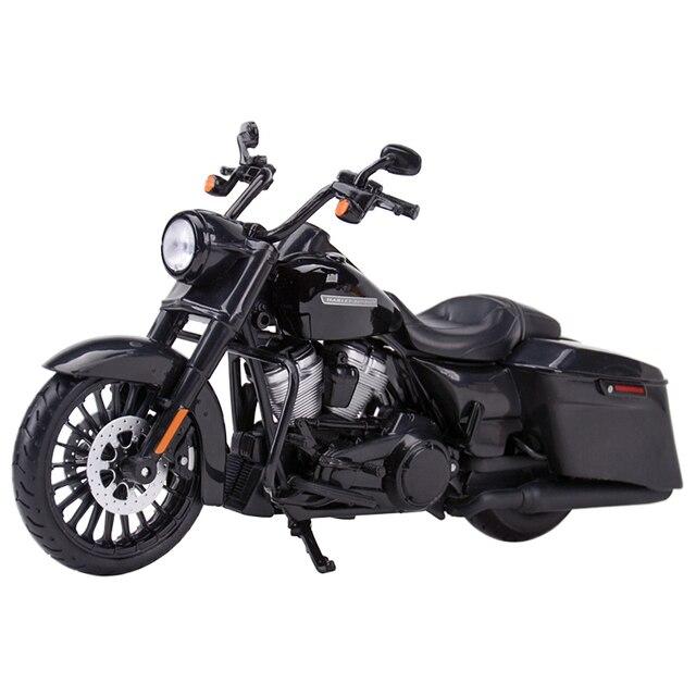 Maisto 1:12 2017 Road King Speclal döküm araçları koleksiyon hobiler motosiklet Model oyuncaklar