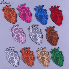 Many Color Heart Embroidered Patches On Clothes Iron On Patches For Clothing Human Organs Patches Stickers Applique Badge Stripe chrome side door rear view mirror cover trim garnish molding overlay strip for toyota corolla 2014 2015 2016 2017 altis e170 abs