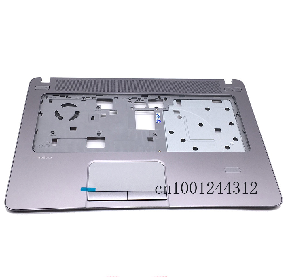 New Original For <font><b>HP</b></font> <font><b>ProBook</b></font> <font><b>440</b></font> <font><b>G1</b></font> Palmrest Keyboard Bezel Upper Case / with Touchpad 721540-001 image