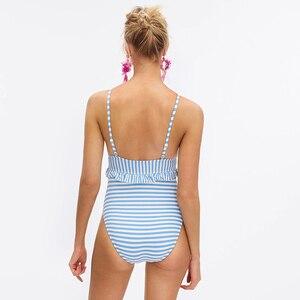 Image 2 - 2020 חתיכה אחת בגד ים הדפסת לדחוף את לפרוע Monokini נשים בגד גוף מאיו דה ביין חוף ללבוש חליפת אמבטיה XXL