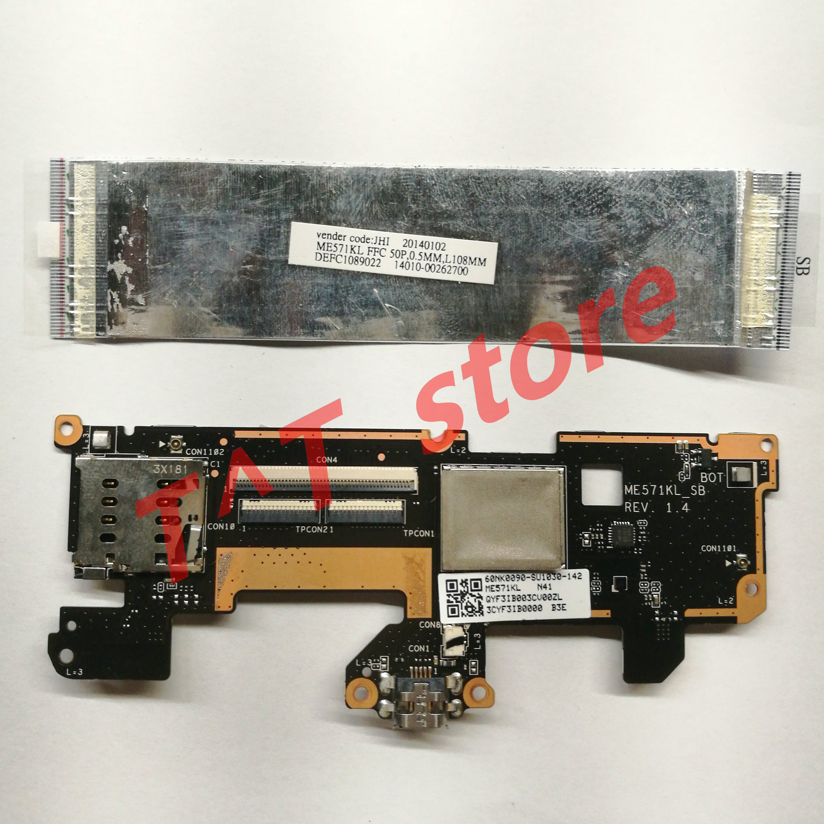 Parts for Google nexus 7 2013  ME571K ME571KL Power//Switch cable speaker camera