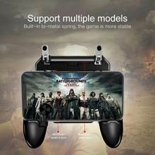 Мобильный игровой контроллер w11 + pubg free fire металлический