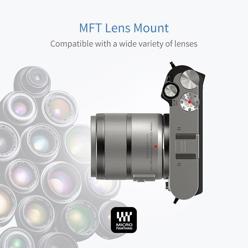YI M1 appareil photo numérique sans miroir objectif Zoom principal LCD Version internationale minimaliste 20MP enregistreur vidéo 720RGB caméra numérique - 5