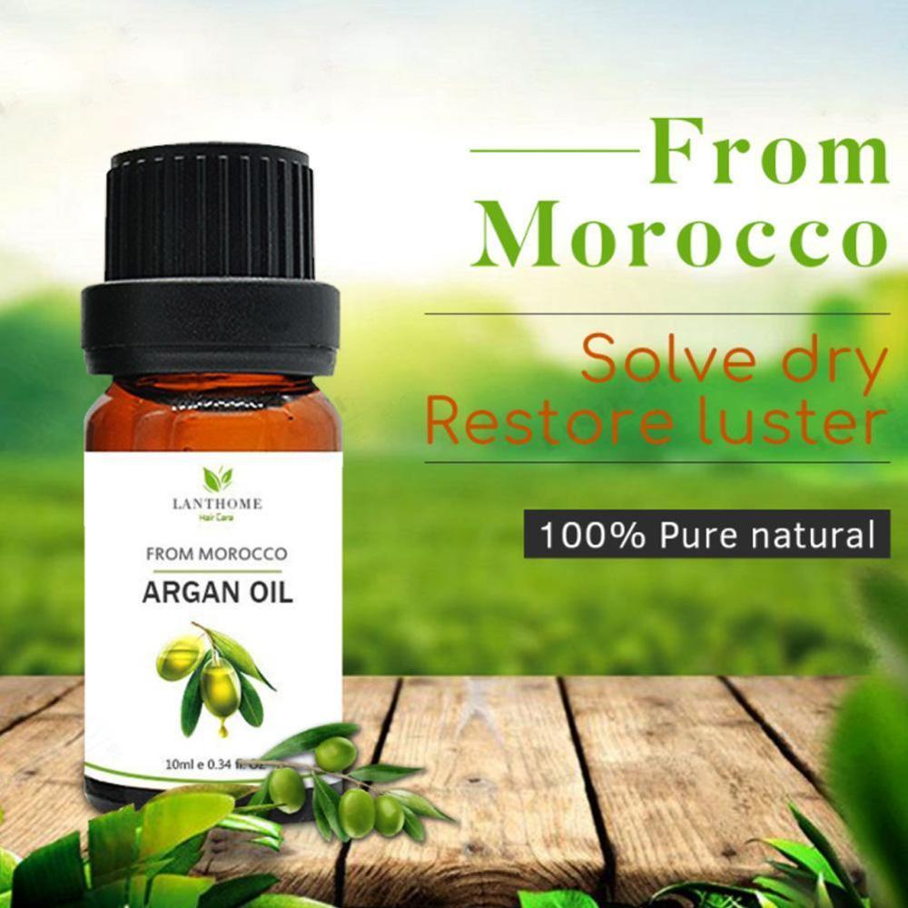 10ML Morocco Argan OilMoisturizing Professional Dry Damaged Hair Maintenance Keratin Repair Hair Scalp Treatment Hair Mask