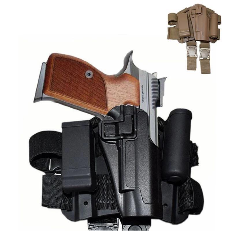 Tactical Leg Holster Left Hand Pistol Gun Holster for Colt 1911