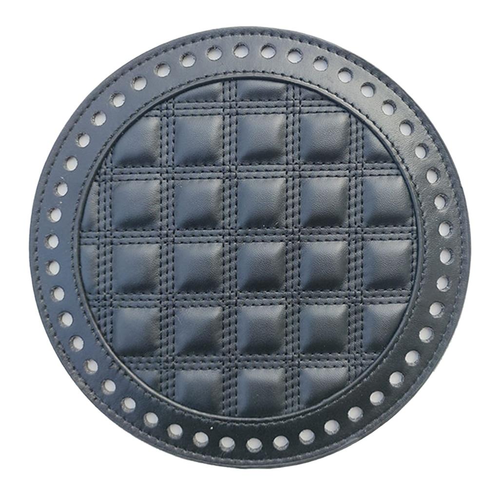 DIY Leather  Shaper Bottom for Knitting Crochet Bags Handbag Cushion Pad