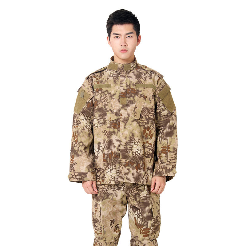 17Color Men Army Tactical Military Uniform Camouflage Combat Shirt Clothes Special Forces ACU Militar Uniforms for Man Coat Set image