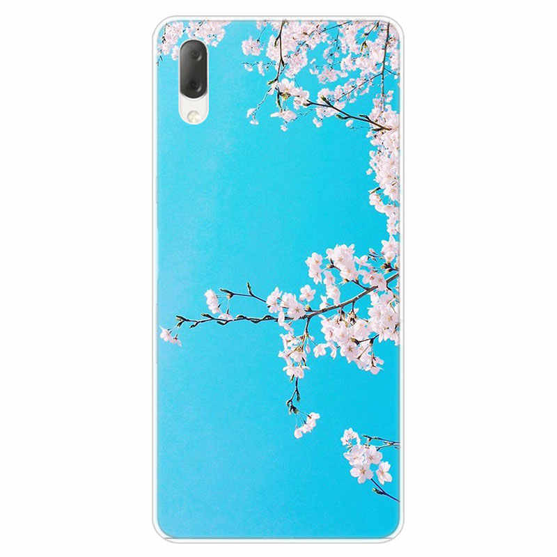 Cherry blossom kawaii sky Hard Case Per Sony Xperia L1 L2 L3 X XA XA1 XA2 Ultra E5 XZ XZ1 XZ2 Compatto XZ3 M4 Aqua Z3 Z5 Premium