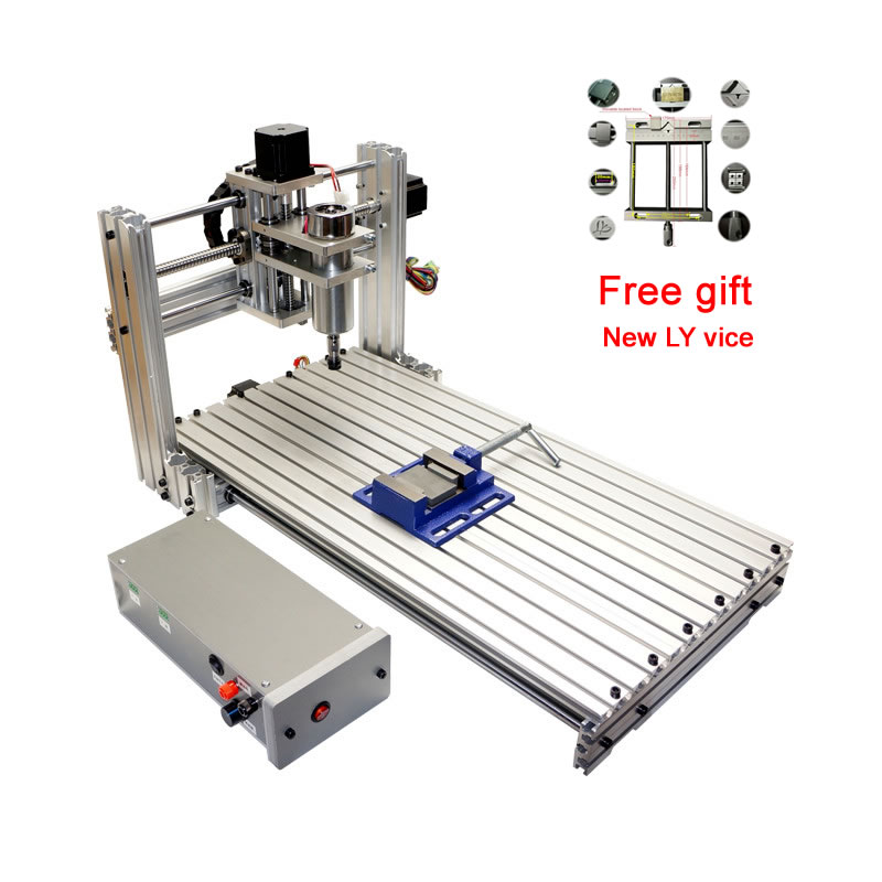 DIY Cnc Router 3060 Engraving Carving Milling Machine For Woodworking Metal Drilling In China Price