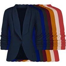 Женские блейзеры размера плюс куртка 2020 модная Корейская одежда