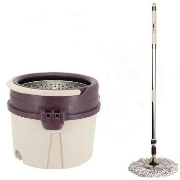 Mop bar rotation universal hand-washing single barrel mop home automatic drowning lazy ping artifact  bucket