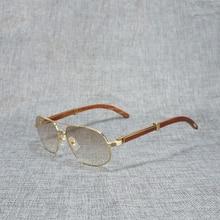 цены на Vintage Sunglasses Men Wooden Sun Glasses for Beaching Driving Male Eyewear Accessories Gafas Clear Glasses Oculos Shade 736  в интернет-магазинах