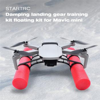 Zestaw do lądowania na wodę zestaw do pływania pływającego zestaw do DJI Mavic mini 2 Drone akcesoria treningowe tanie i dobre opinie LICHIFIT CN (pochodzenie) Net weight 36g EDJP1412 185x40mm for DJI Mavic mini 2 Drone red + black