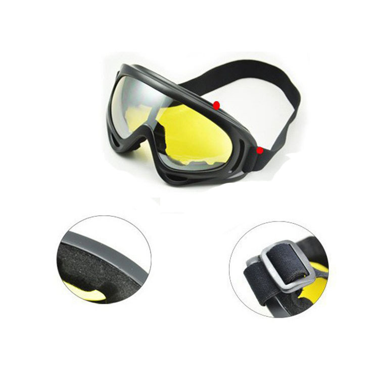 Outdoor Glasses For Riding X400 Harley Tactical Motorcycle Off-road Sports Eye Protection Goggles Anti-Dust Ski Goggles