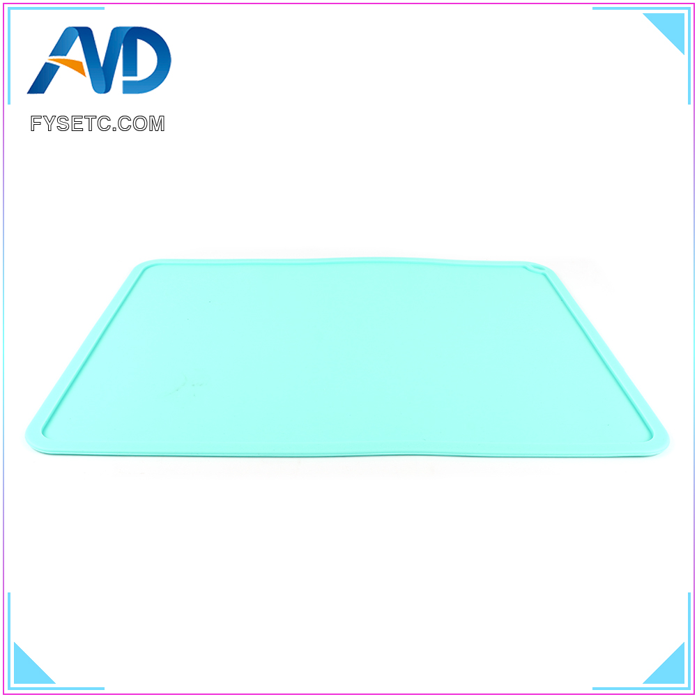 Silicone Slap Mat 410*310mm Clean up Or Resin Transfer To Protect Work Surface  For DLP SLA 3D Printer Accessories|3D Printer Parts & Accessories| |  - title=