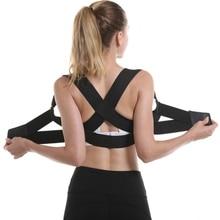 Adjustable Back Braces Holder Men Women breathable elastic Correction Band Humpb